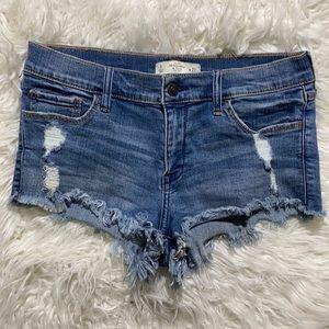 ‼️A&F Sweet & Fun Jean Shorts